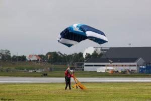Fallskjermhopping oppvisning